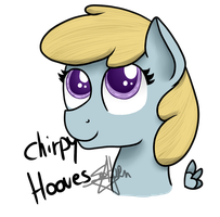 Chirpy headshot by SpokenMind93