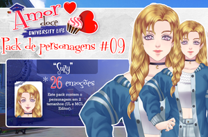Pack de personagens #09 by Unnieverso