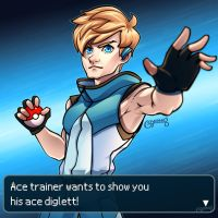 Alolan Ace Trainer by goyong