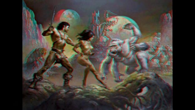 John Carter Of Mars Conversion 3D by Fan2Relief3D