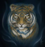 Celtic Tiger by ChibiLeen