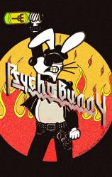 Psycho Bunny As Judas Priest Sept 2018 by MicheleWitchipoo
