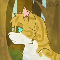 Brightheart animation by FrostedStarlight