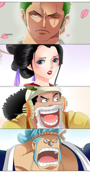Wano! (One Piece CH. 909) by FanaliShiro