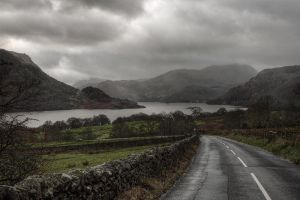 Approach to Ullswater by Mohain