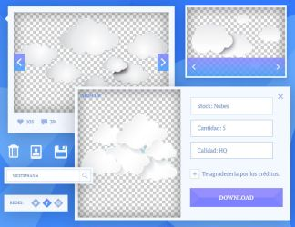 {i} Stock png's 002 - Nubes by VicStephan16