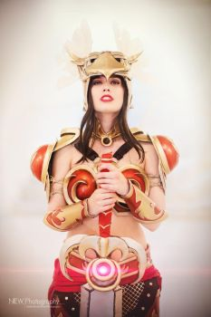 League of Legends - Valkyrie Leona Cosplay by TineMarieRiis