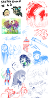 Sketchdump 66 by Ahkward