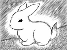 Quick sketch: bunny by jjjjoooo1234