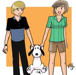 And Snoopy makes three by Koku-chan