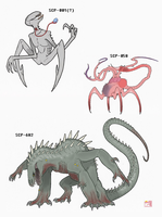 SCP Favorites by King-Edmarka