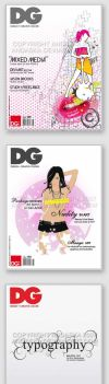DG Magazine Cover Re-Designs by andaska