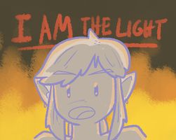 Link Is The Light 2 by Mister-Saturn