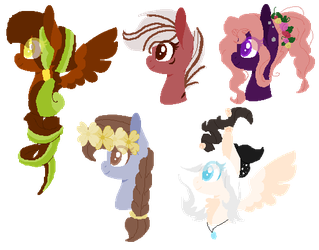 Mlp Set 16 Healing With Nature's Gifts by PegaAdopts