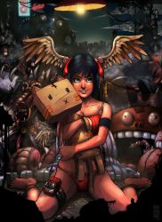 Pepper's Toy Junkyard by haruningster