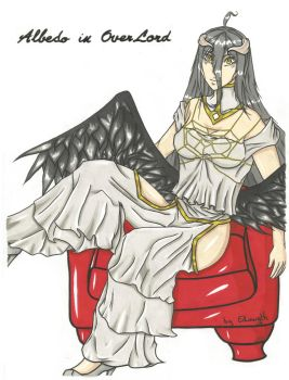 Albedo Color [OverLord] by Edowyth-The-celte