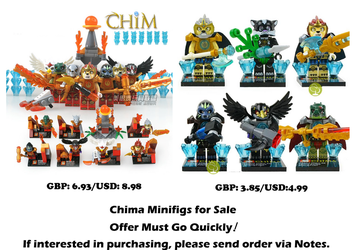 Chima Minifigs for Sale by CCB-18