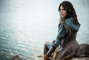 Cosplay Kili (female version) from The Hobbit by MahoCosplay