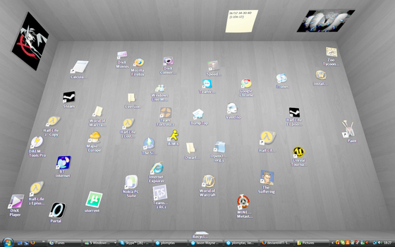 Awesome new desktop by Vic-The-Raccoon