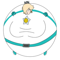 Inflated Rosalina by Ms-Chemi