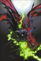 spawn and abatman issue 1 alt by kennethfouche