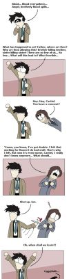 SPN: Brotherly love by Castiel SPOILER by PheaVampire