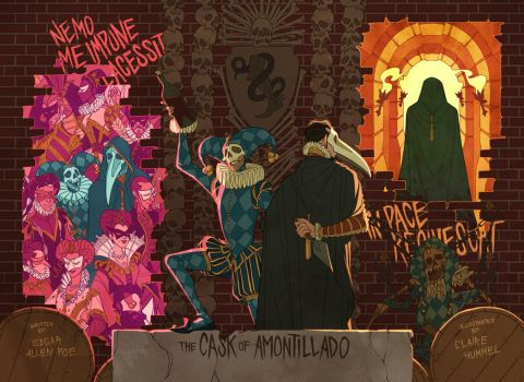 The Cask of Amontillado by shoomlah