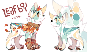 Leafboy adopt auction (closed) by Kyldrun