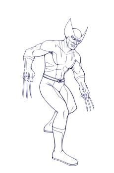 Wolverine Sketch by IMForeman