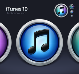 iTunes 10 Replacement Icons by SmarTramS