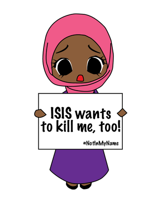 ISIS Wants to Kill Me, Too! by Nahmala