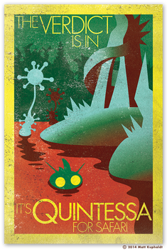 Travel sticker: Quintessa by MattDrawsRobots