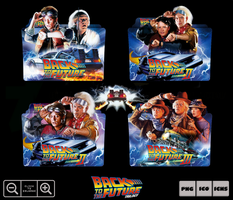 Back to the Future Movie Collection Folder Pack by Bl4CKSL4YER