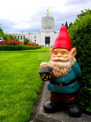 Capitol Gnome by thedustyphoenix