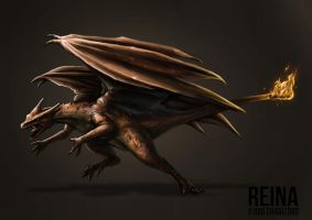 Charizard Concept by catandcrown