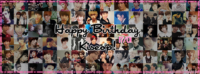 HAPPY BIRTHDAY KISEOP TIMELINE COVER!! by SeoulSweetheart