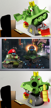 Smithy approved Mario's tank form! by GenoForSmash