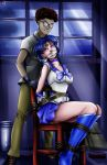 Sailor Mercury Abduction Comic - Splash Page -alte by sleepy-comics