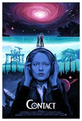 CONTACT Movie Poster by CAMartin