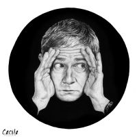Martin Freeman by cecilepellerinfrance