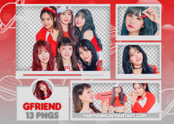 [PNG PACK #663] GFriend - (Sunny Summer). PT1 by fairyixing