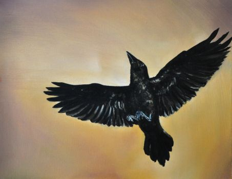 The Crow by VictorianExcentric