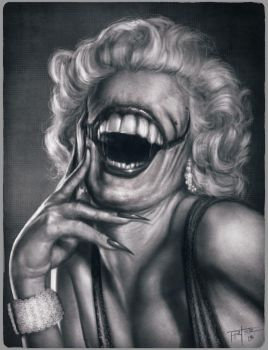 Marilyn's smile by RodgerPister