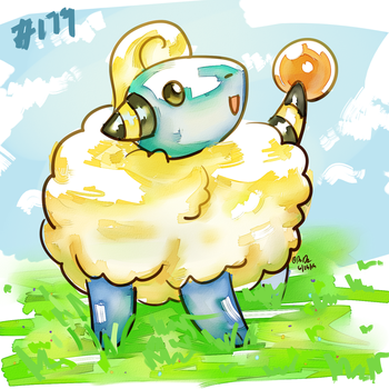 Mareep by Remember2fly1