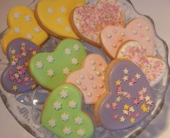 Spring cookies by CandyKnickerbocker