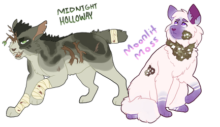 Plants of the Night OPEN ADOPTS by Ravynflight