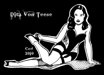Dita von Teese by Cedos