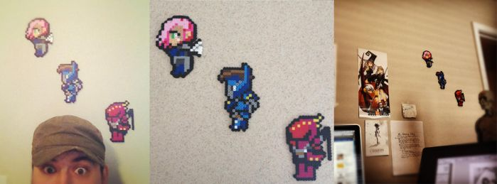 Art from Fans: 8bit Shadows of Oblivion by Shono
