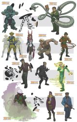 awesome spiderman villains IV by jimmymcwicked