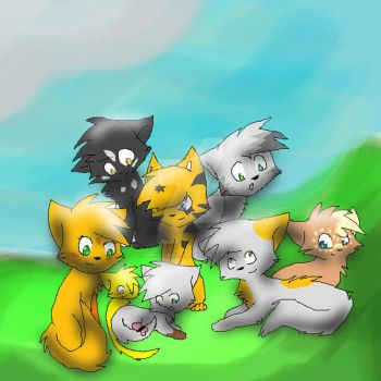warriorcats  lightclan by purple-reaper